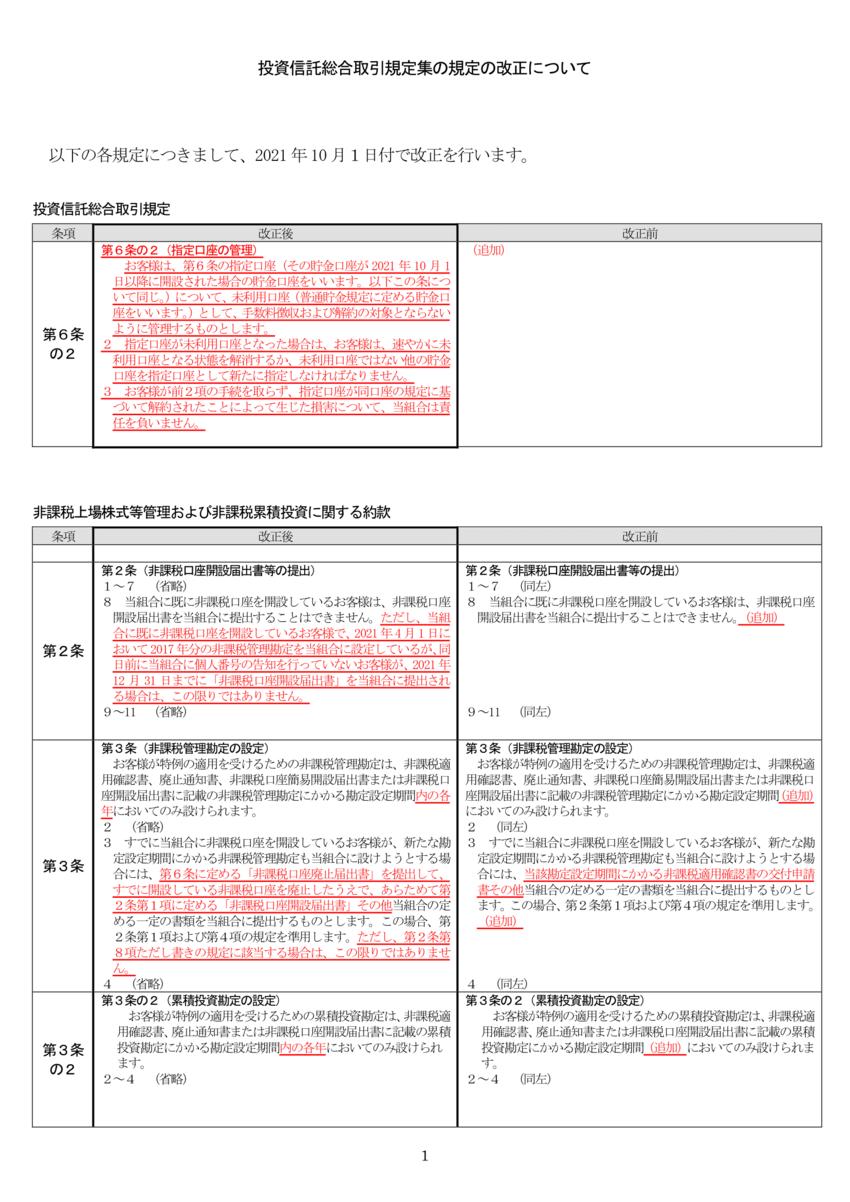 別紙2-2_新旧 HP掲示 投資信託総合取引規定 NISA約款-1.png